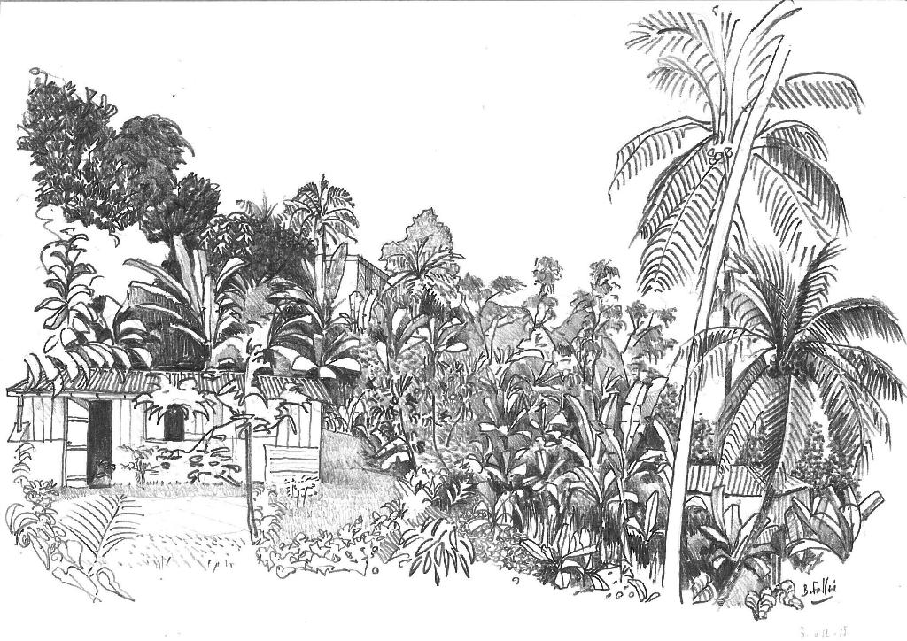 Dessiner un jardin finest dessin le jardin de cultures for Dessiner plan jardin